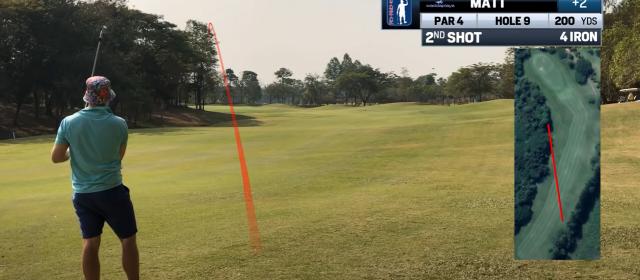 Forskellen på en god og en virkelig god golfspiller